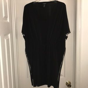 Dresses & Skirts - Plus size caftan/ cover up with drawstring